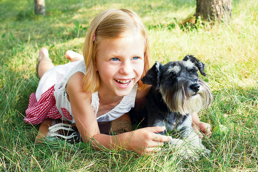 Pets can help children accept the challenges of foster care