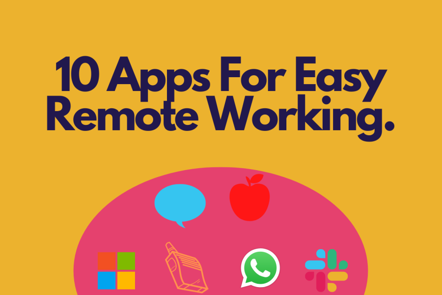 10 Apps for Easy Remote Working