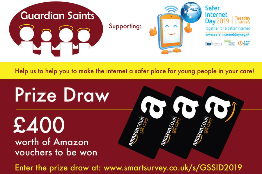 Guardian Saints Safer Internet Prize Draw 2019