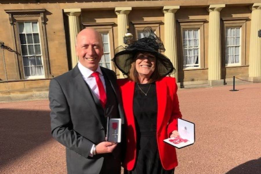 Anchor Foster Care Carers Receive Rare Royal Honour